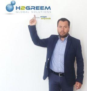 Mario Carrero, CEO de la compañía H2Greem
